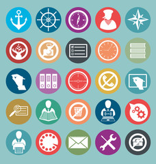 Vector Flat Style Icons