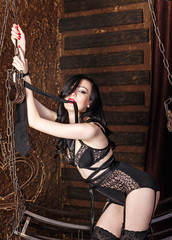 Young sexy girl BDSM