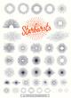 40 Vintage strburst collection - 80080645