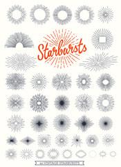 40 Vintage strburst collection