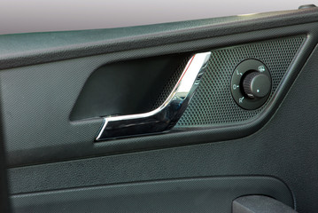 car door handles and side mirror switch control