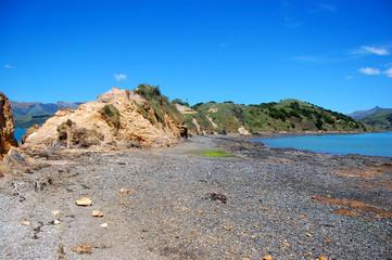 Stony coast area