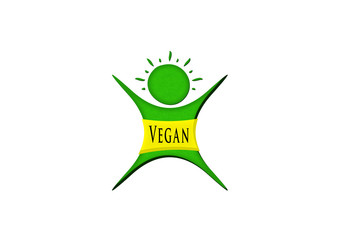 Vegan Männchen