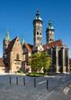 Leinwanddruck Bild - Naumburg Cathedral