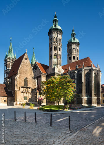 Leinwanddruck Bild Naumburg Cathedral