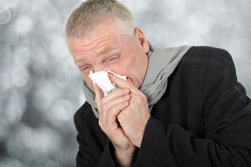 Schnupfen und krank