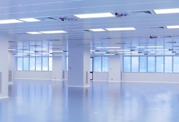 Sala stabilimento industriale