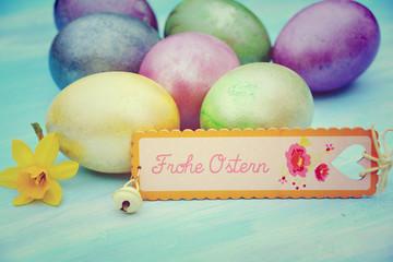 Postkarte - Frohe Ostern