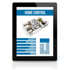 tablet pc smart house