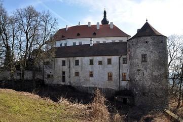 Castle and park, Namest nad Oslavou, Czech Republic, Europe