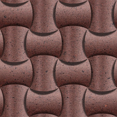 Abstract paneling pattern - Handmade paper