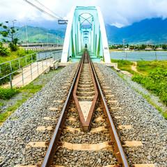 Railway bridge in Vietnam