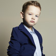 fashionable little boy.stylish child in suit.fashion kids