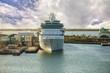 cruise ship in port - 80089257