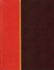 Brown and red cover