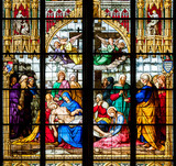 Detail of the stained glass window - 80090029