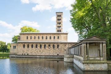 Church of Peace, Sanssouci Park in Potsdam, Germany