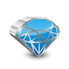 Diamond Icon 3D