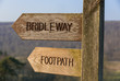 Footpath and Bridleway signage - 80091845