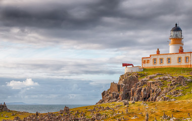 Neist Point Lighthouse HDR