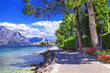 scenery of northen Itlay - Malcesine,  Lago di garda - 80092003