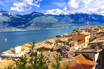 scenery of northen Itlay - Limone,  Lago di garda