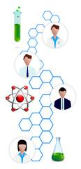 scienza, ricerca, laboratori, scienziati, matematica
