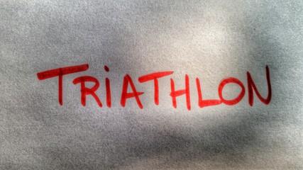 Triathlon - Swim, Bike, Run