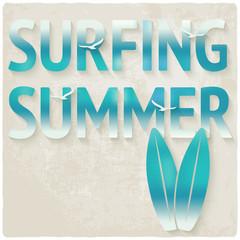 surfing beach summer background