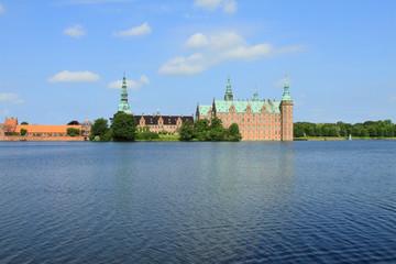 Frederiksborg Palace in Hillerod, Denmark