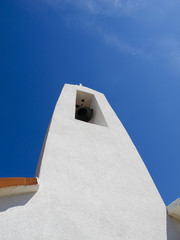 bell tower on the island of Novalja