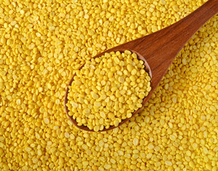 yellow split mung dal, moong dal