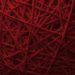 red colored weaving texture