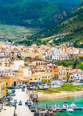 Castellammare del Golfo village, Trapani, Sicily, Italy