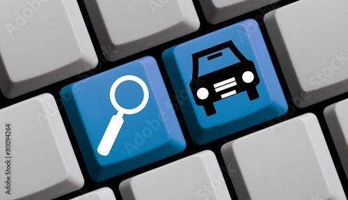 canvas print picture Autos online suchen