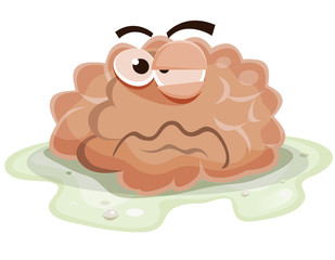 Damaged Brain Character