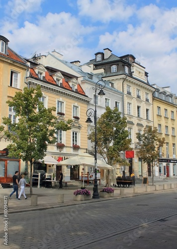 Fototapeta streets of Warsaw