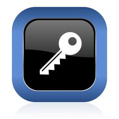 key square glossy icon