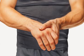 Acute pain in a wrist