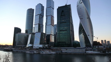 Skyscrapers International Business Center, Moscow