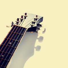 Guitar. Fretboard.