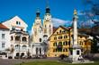 Leinwandbild Motiv Brixen in Südtirol