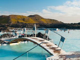 Blue Lagoon geothermal bath resort