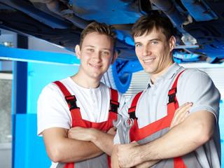 Apprentices for car mechanic