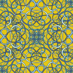 Seamless pattern of the loop