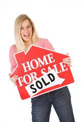 Moving: Woman Excited To Be Selling House