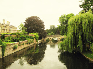 River view of the University of Cambridge