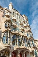 Batllo House in Barcelona, Spain