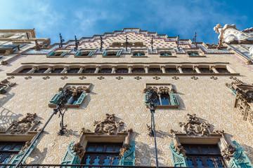 Amatller House in Barcelona, Spain