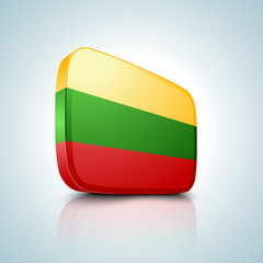 Lithuania  button